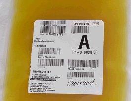 aplastische anemie trombocyten bestraald